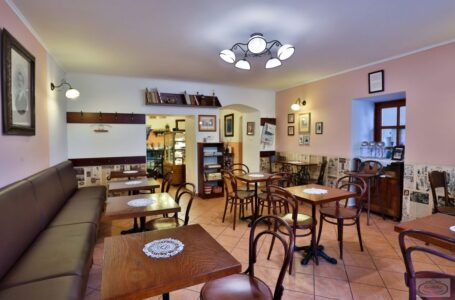 Dortletka – kavárna vprvorepublikovém stylu