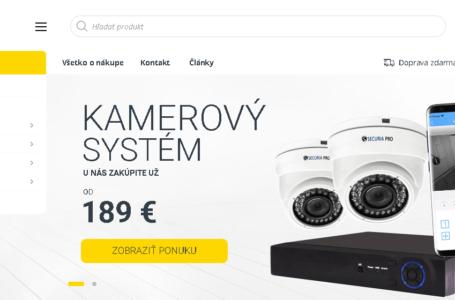 Securino.cz – dropshipping na prodej